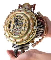 amazon com colonel j fizziwigs steampunk collection wall clock