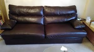 G Plan Leather Sofa G Plan Grand Brown Leather Sofa Seat Upto 4