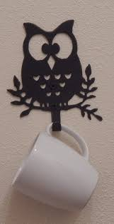 Owl Lovers by Owl Wall Hooks Set Of 3 Owl Decor Coat Rack Towel Rack Bedroom