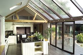 kitchen conservatory ideas conservatory extensions modern glass kitchen extensions
