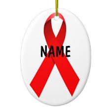 aids u0026 hiv ornaments