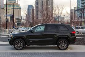 bronze jeep 2017 jeep grand cherokee limited 75th anniversary review
