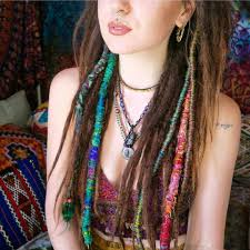 hippie hair wraps medicine woman bohemian hair wraps temporary dreadlocks