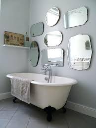How To Hang Bathroom Mirror Bathroom Frameless Mirror Engem Me