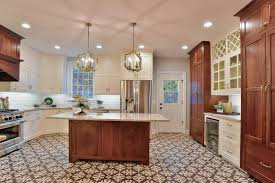 at home couple u0027s remodeled kitchen blends modern with 1920s style