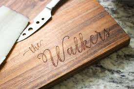 engraved platter wedding gift personalized cutting board custom engraved cutting board