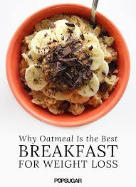 oatmeal and weight loss popsugar fitness