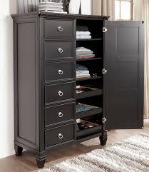 Bedroom Furniture Storage chicago furniture black storage bed ashley store