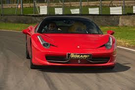 Ferrari 458 V8 - ferrari 458 italia driving experience from 6th gear