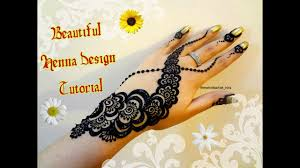 how to apply easy simple dubai gulf henna mehndi designs for hands