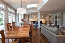 like open floor plan wood floor dislike pole in middle of room