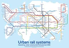 Madrid Subway Map Global Subway Map Imagines A World Connected By Hyperloop