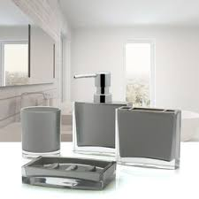 Dark Brown Bathroom Accessories by Bath Accessory Sets You U0027ll Love