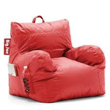 Big Joe Bean Bag Chair Kids Amazon Com Big Joe Dorm Chair Flaming Red Kitchen U0026 Dining