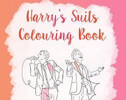 fashion coloring etsy