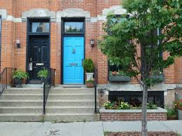 the chicago real estate local curb appeal lincoln park row homes