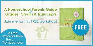 how to make a homeschool transcript