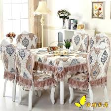 table chair covers wonderful dining table luxurious dining table cloth chair