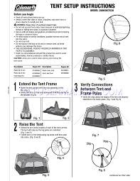 coleman tent 5010000851 user u0027s manual download free