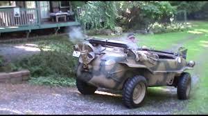 volkswagen schwimmwagen schwimmwagen vw type 7 166 1944 youtube
