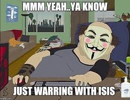 Anonymous Meme - the war goes well anonymous know your meme