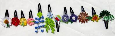 kanzashi hair ornaments kanzashi hair 1 year set by eruwaedhielelleth on deviantart