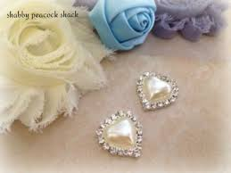 Wholesale Shabby Chic Items by 11 Best Rhinestone Pearls Embellishments Images On Pinterest
