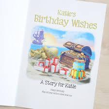 birthday wish book personalised birthday wishes book my 1st years