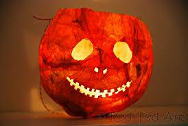 elementary halloween lantern craft creative paper craft activity