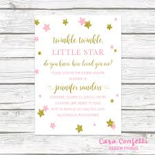 twinkle twinkle baby shower invitations twinkle twinkle baby shower invitation twinkle