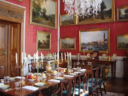 Gothic Dining Room by Regency Manners Seating At Table Castle Howard Castles And