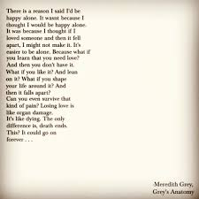 wedding quotes greys anatomy grey s anatomy quote from meredith grey on the season 7 finale