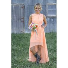 aliexpress com buy 2016 cheap orange country bridesmaid dresses