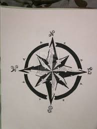 amazing black nautical compass design studio