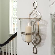 Candle Wall Sconces Attractive Silver Wall Sconce Candle Holder Candle Holders Metal
