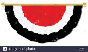Red White Black Flag Black White Drawing Ribbon Banner Stock Photos U0026 Black White