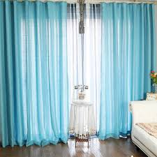 Powder Blue Curtains Decor Bedroom Blue Privacy Curtain Ideas Polyester Fabric