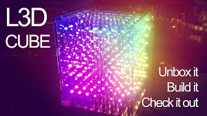 l3d cube 3d rgb led animated light display 8x8x8 version