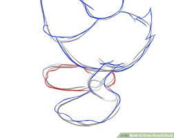 draw donald duck 6 steps pictures wikihow