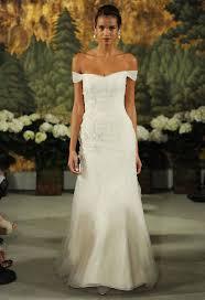 Off The Shoulder Wedding Dresses 10 Romantic Off The Shoulder Wedding Dresses Bridal Musings