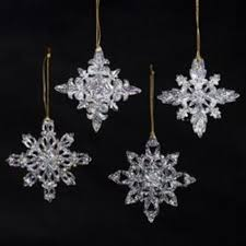 wholesale bulk dropshipper 3 5acrylic snowflake ornament four