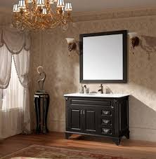 black bathroom vanity from porcher traditional black bathroom