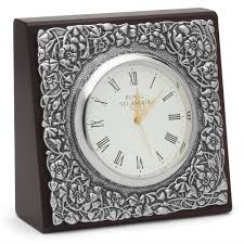 royal selangor celebration table clock leaves peter u0027s of