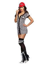 referee costume dreamgirl 9494 my referee costume black white m