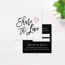 Company Message On Business Cards Referral Business Cards U0026 Templates Zazzle