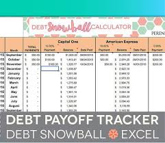 Spreadsheet For Paying Debt Best 25 Debt Snowball Spreadsheet Ideas On The Debt
