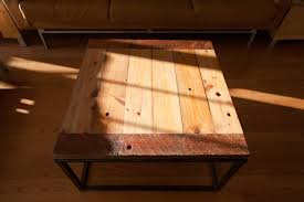 wood plank coffee table 2nd story wood co old mill coffee table