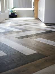 oh yes she diyd herringbone floors with vinyl stick planks