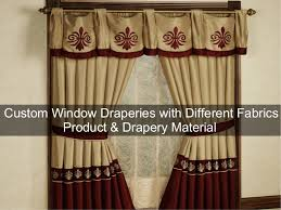 Different Designs Of Curtains Custom Window Draperies With Different Fabrics Product U0026 Drapery Mate U2026