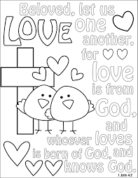 god loves coloring pages coloring